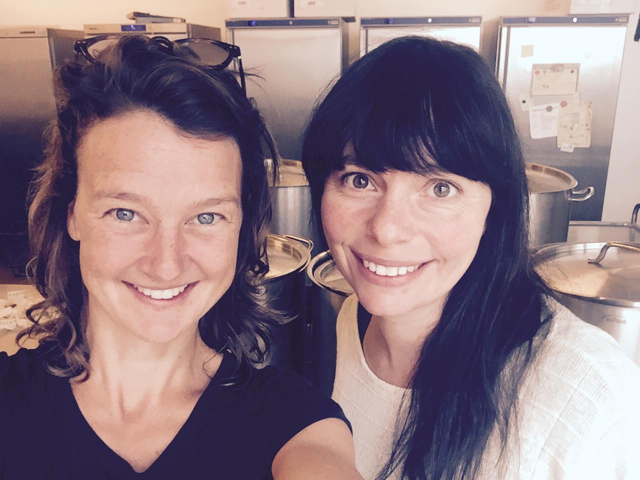 Mieke en Elisabeth